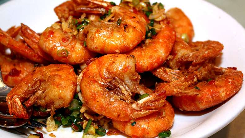 Prawns can protect us from parasitic disease