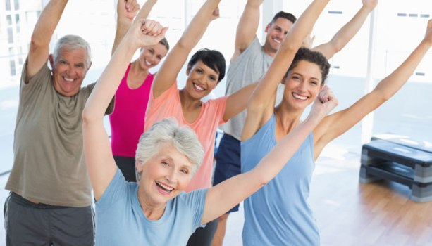 15 minutes a day of physical activity good for the elderly