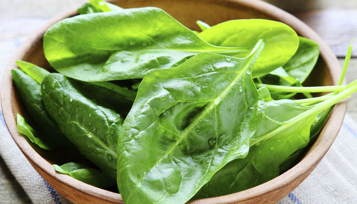 Spinach can curb food craving in men