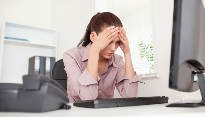 Workplace anxiety can lead to poor job performance