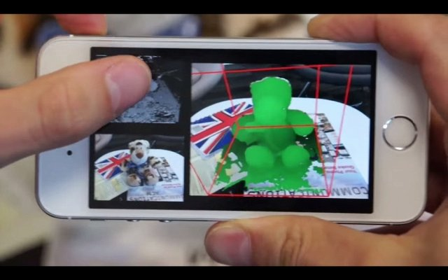 App to turn phone into 3D scanner