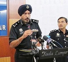 Kuala Lumpur's new top cop is a Sikh