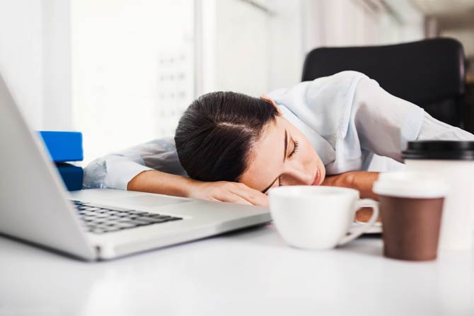 Fatty diet can trigger excessive daytime sleepiness