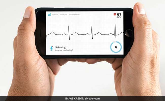 Smartphone app may replace heart palpitation monitors