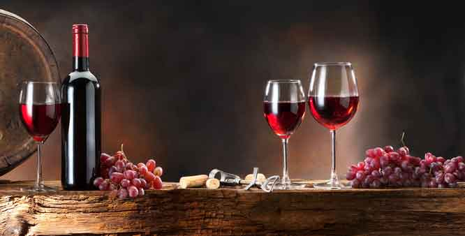 Cheers! Red wine can offset effects of high fat diet