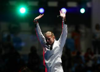 Olympic: Szasz takes gold for women's fencing back to Hungary