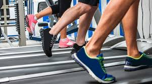 Treadmill running with heavier shoes may slow you down