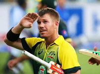 Warner stars with ton as Australia thrash Kiwis