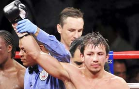 Kazakhstan's Golovkin unifies world middleweight title