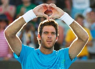 Del Potro beats Haase, sets up clash with Federer at Miami Open