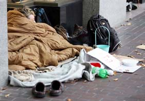 New support services for the homeless