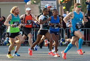 Kipkemoi, Helen Bekele win at 39th Barcelona marathon