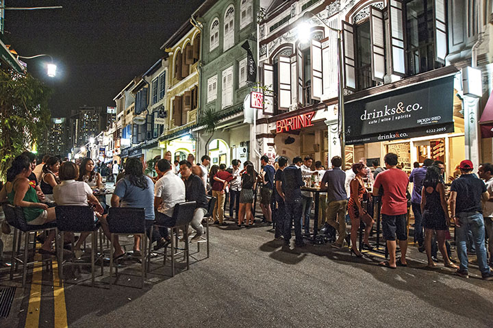 A Weekend On Singapore Streets