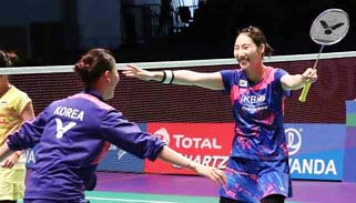 Badminton: South Korea upset China to win Sudirman Cup