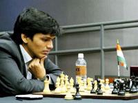 Harikrishna holds Francisco in second round of Moscow tourney