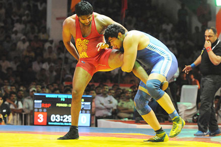 Asian wrestling: Sumit takes silver on final day