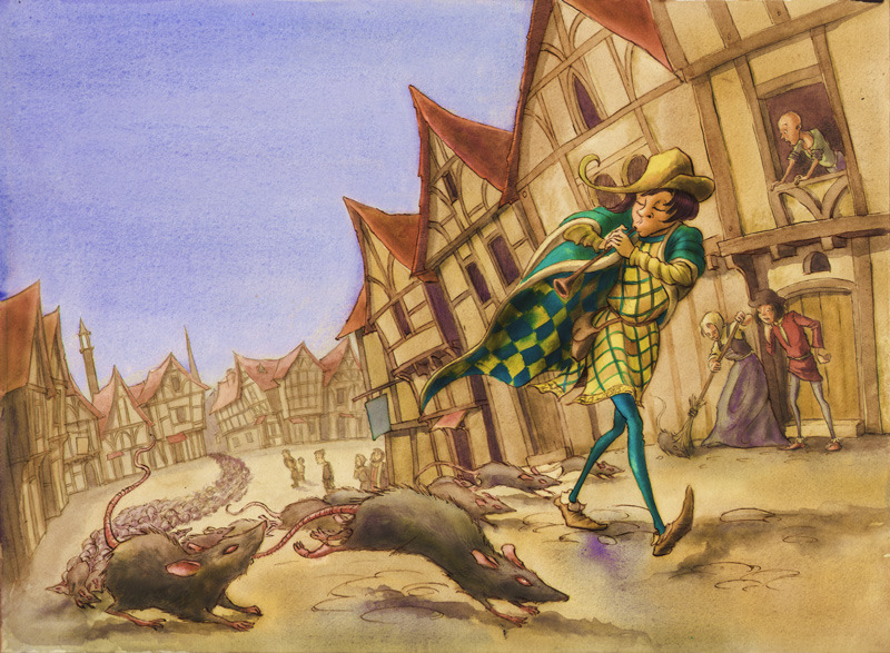 pied piper of hamelin Once upon a time on the banks of a great river in the north of germany lay a town called hamelin the citizens of hamelin were honest folk who lived contentedly in their grey stone houses the years went by, and the town grew very rich.