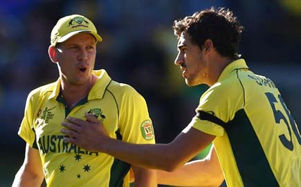 Australia recall Faulkner, Coulter-Nile for India tour; Starc rested