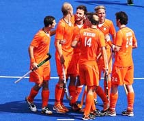 Dutch men's hockey team wins European title