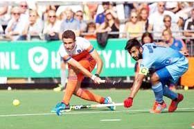 India stun Netherlands 4-3 in hockey