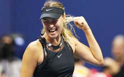 Maria Sharapova knocked out of US Open