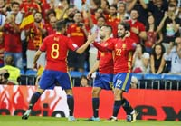 Spain move towards World Cup spot with win over Italy