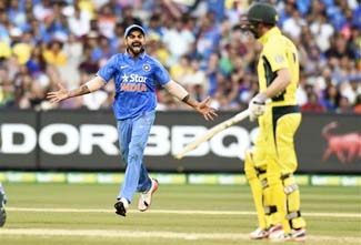 Fifth ODI: India thrash Australia to end series on winning note