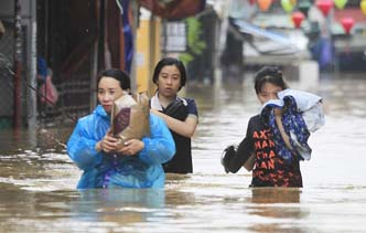 Typhoon Damrey: 44 killed, 19 missing in Vietnam