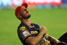 KKR's Aussie batsman Lynn will not need surgery