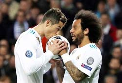 Real Madrid beat PSG 3-1 in CL
