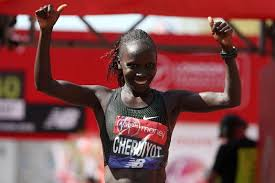 Cheruiyot wins London Marathon women's race