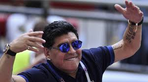 Maradona sees Brazil 'on the way' to World Cup title