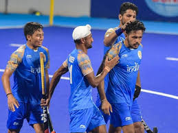 India hammer S.Africa in hockey World Cup opener